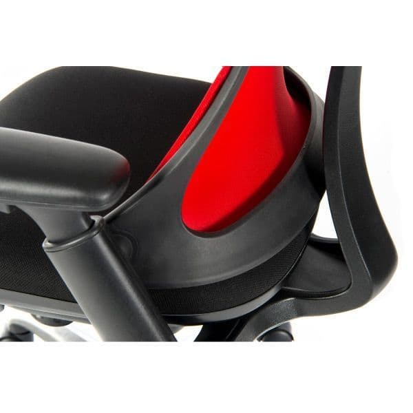 Teknik Rapport Executive Mesh Office Chair - Red  | LockwoodHume